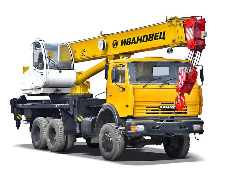 КС 45717 Автокран Ивановец 25 тонн на базе КамАЗ