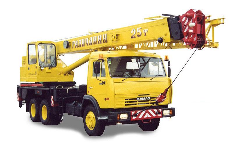 КС 55713 1 автокран 25т КамАЗ 65115