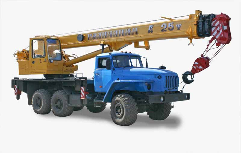 автокран КС 55713 3в на базе Урал 5557