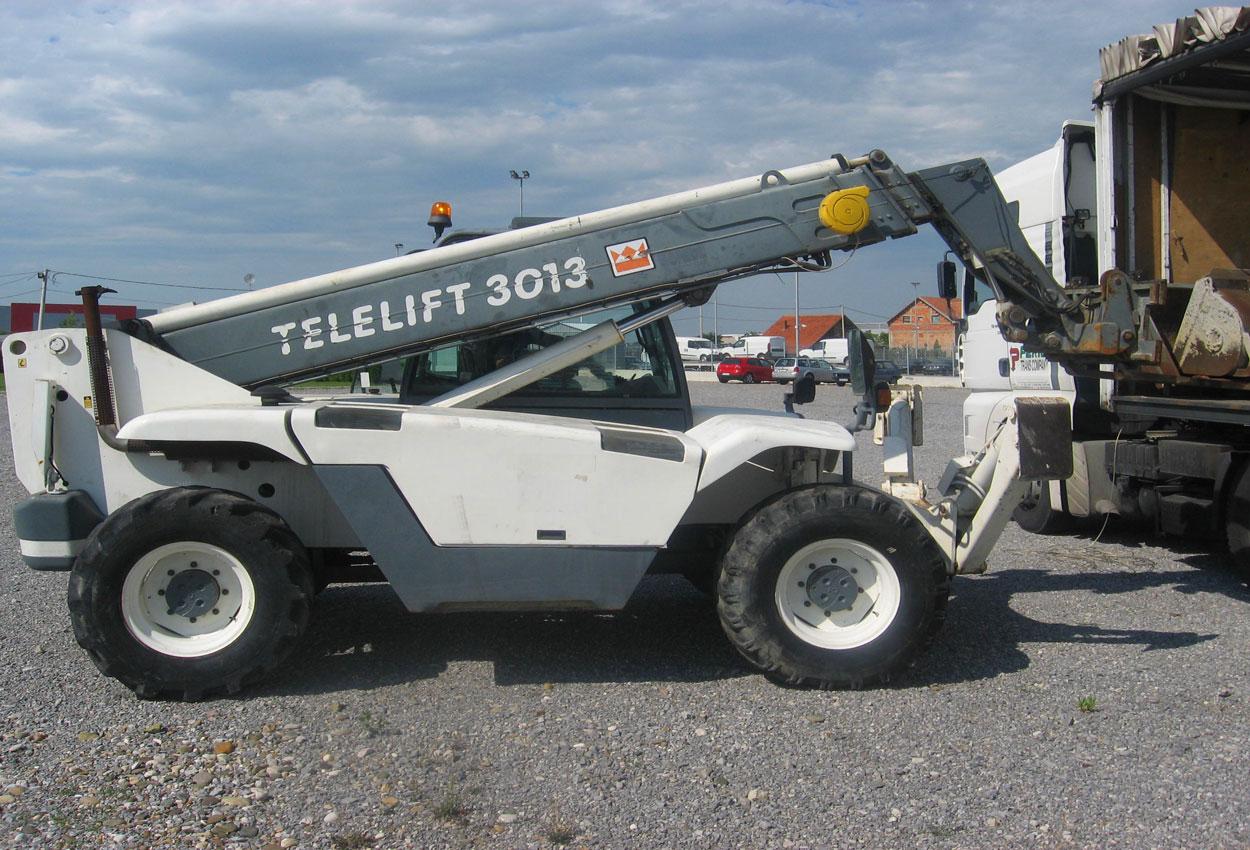 телескопический погрузчик Terex Telelift