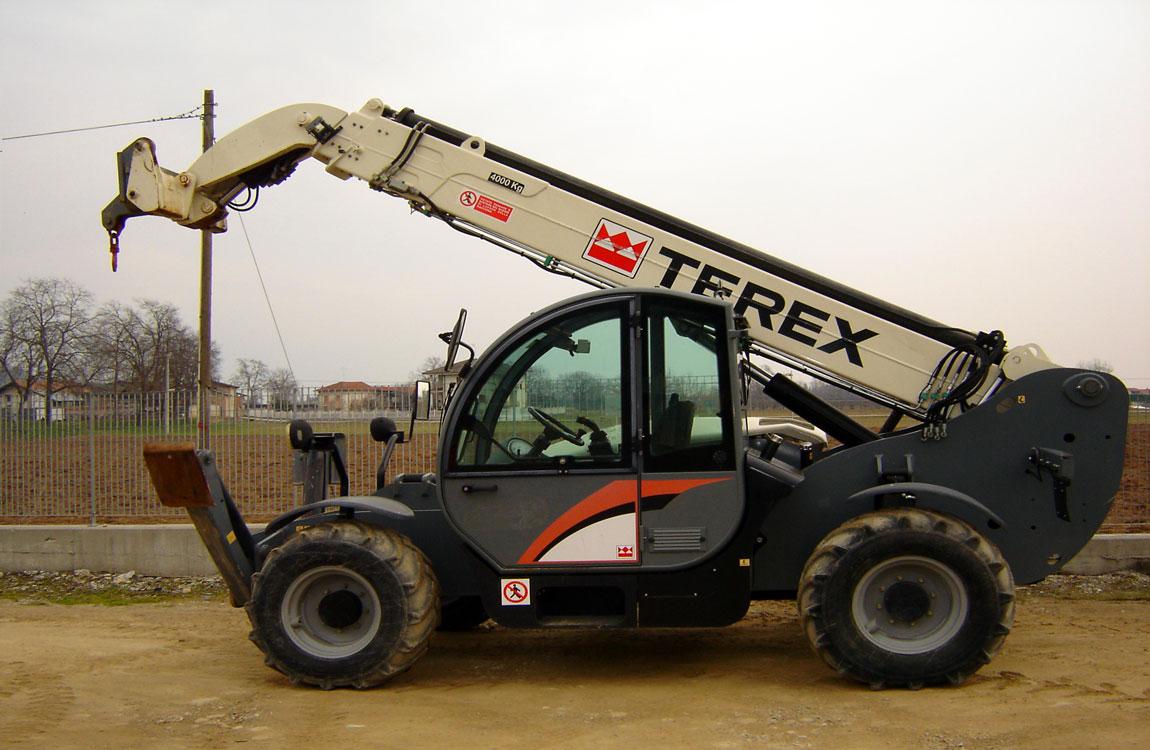 погрузчик телескопический Terex Girolift