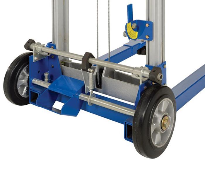 колеса ручного штабелера с механическим приводом