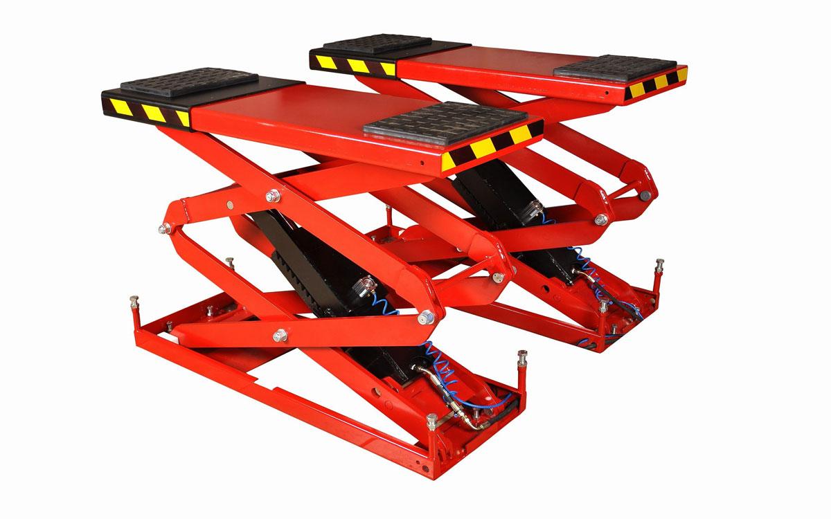 гидравлический шиномонтажный ножничный подъёмник