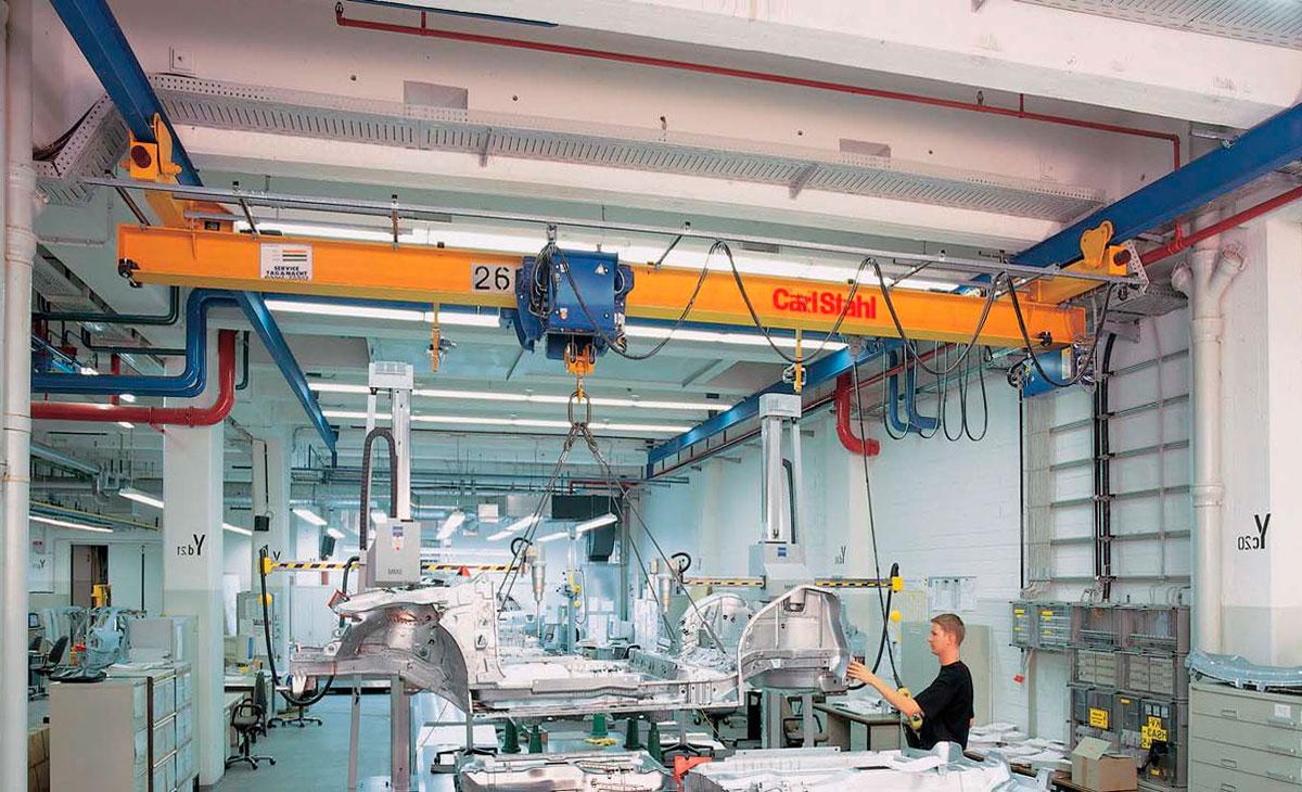 кран электрический подвесной carlstahl с электроталью