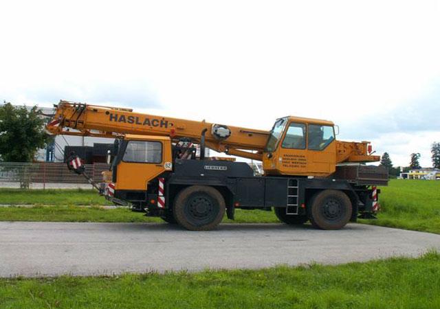 полноприводный Либхер LTM 1025 25 тонн