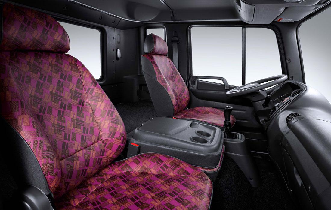 двухместная кабина грузового автомобиля Hyundai HD 120