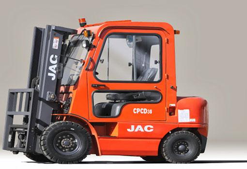 дизельный погрузчик CPCD 35 JAC