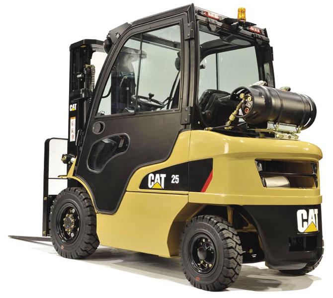 дизельный погрузчик CAT 25