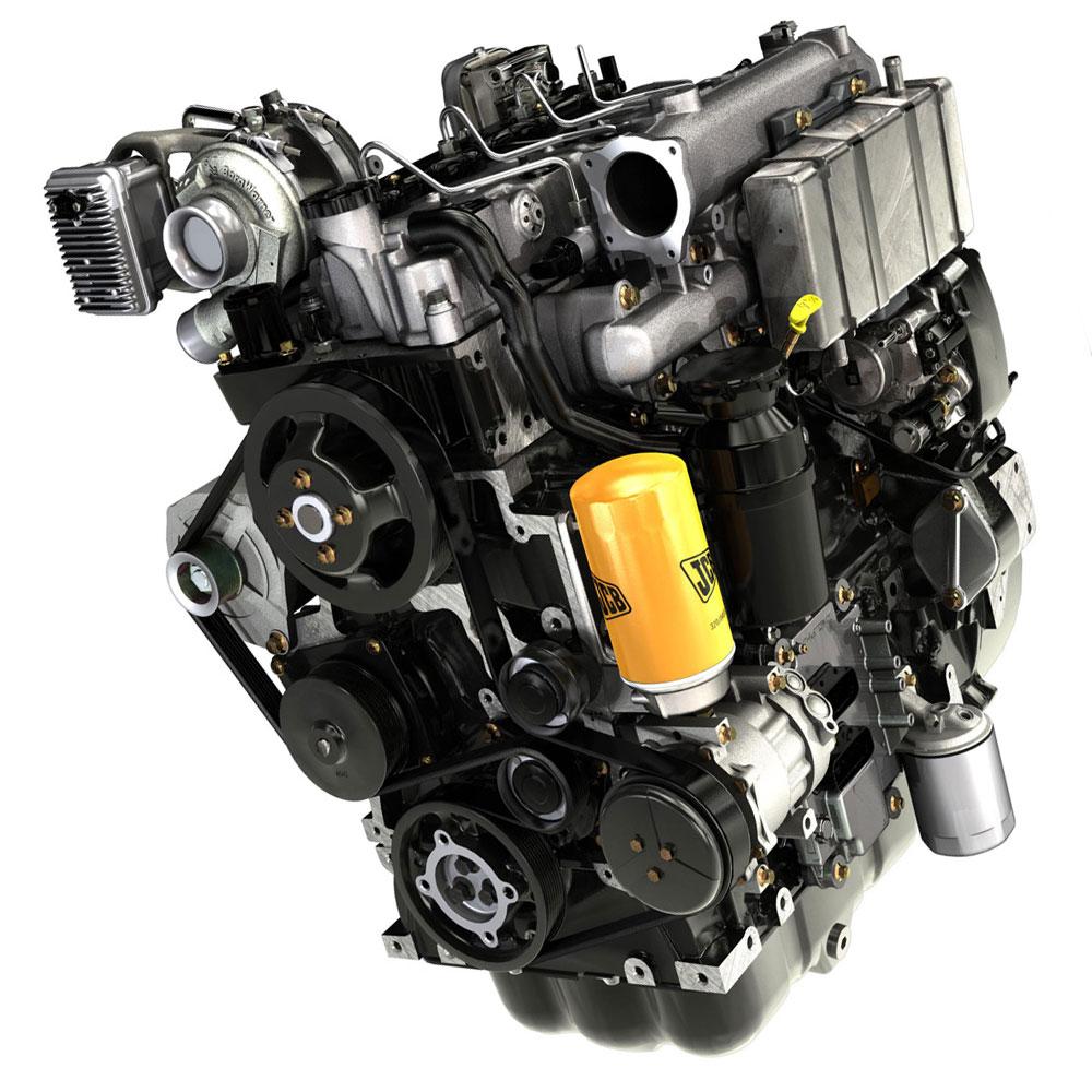 двигатель погрузчика JCB
