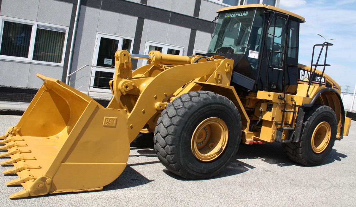 фронтальный колёсный погрузчик Caterpillar 950 H