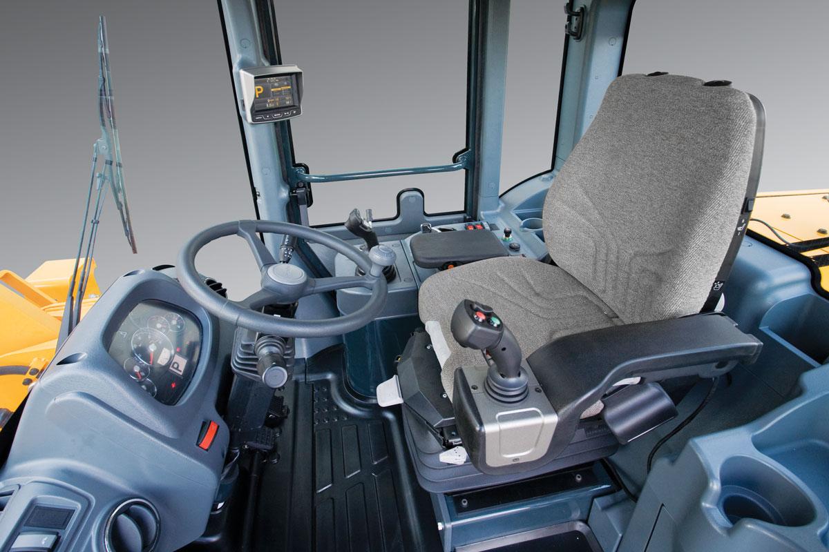 кабина одноковшового погрузчика Hyundai HL757 9s