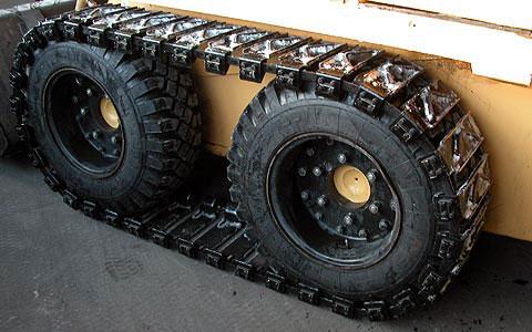металлические гусеницы мини погрузчика МКСМ 800