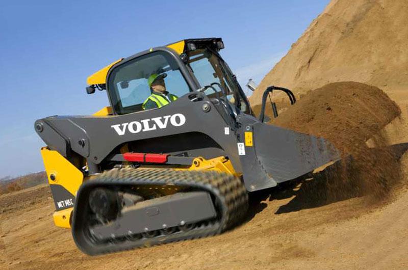 гусеничный мини погрузчик Volvo MCT145C