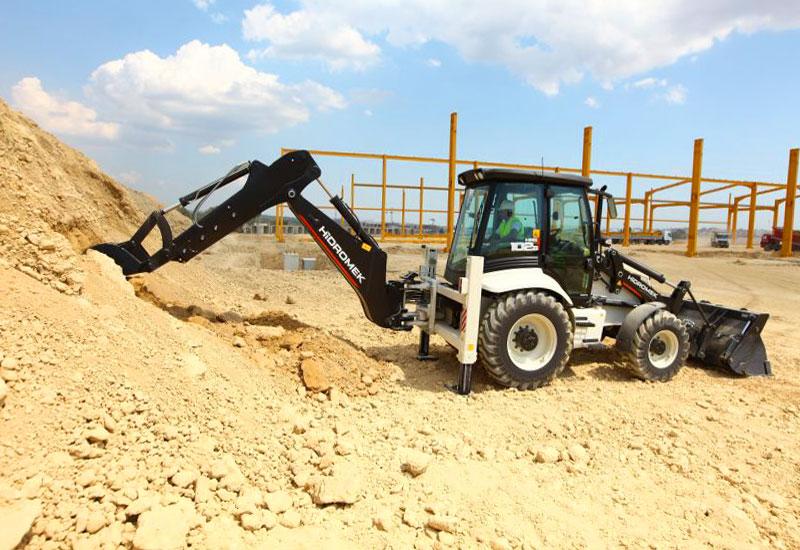 Hidromek HMK 102B в строительстве