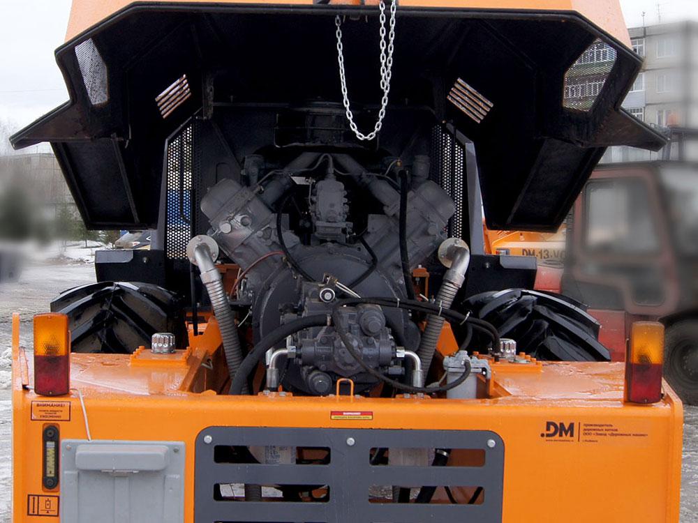 двигатель катка ДМ 62