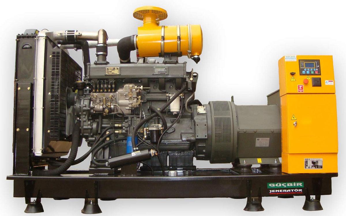 устройство промышленного дизельного генератора