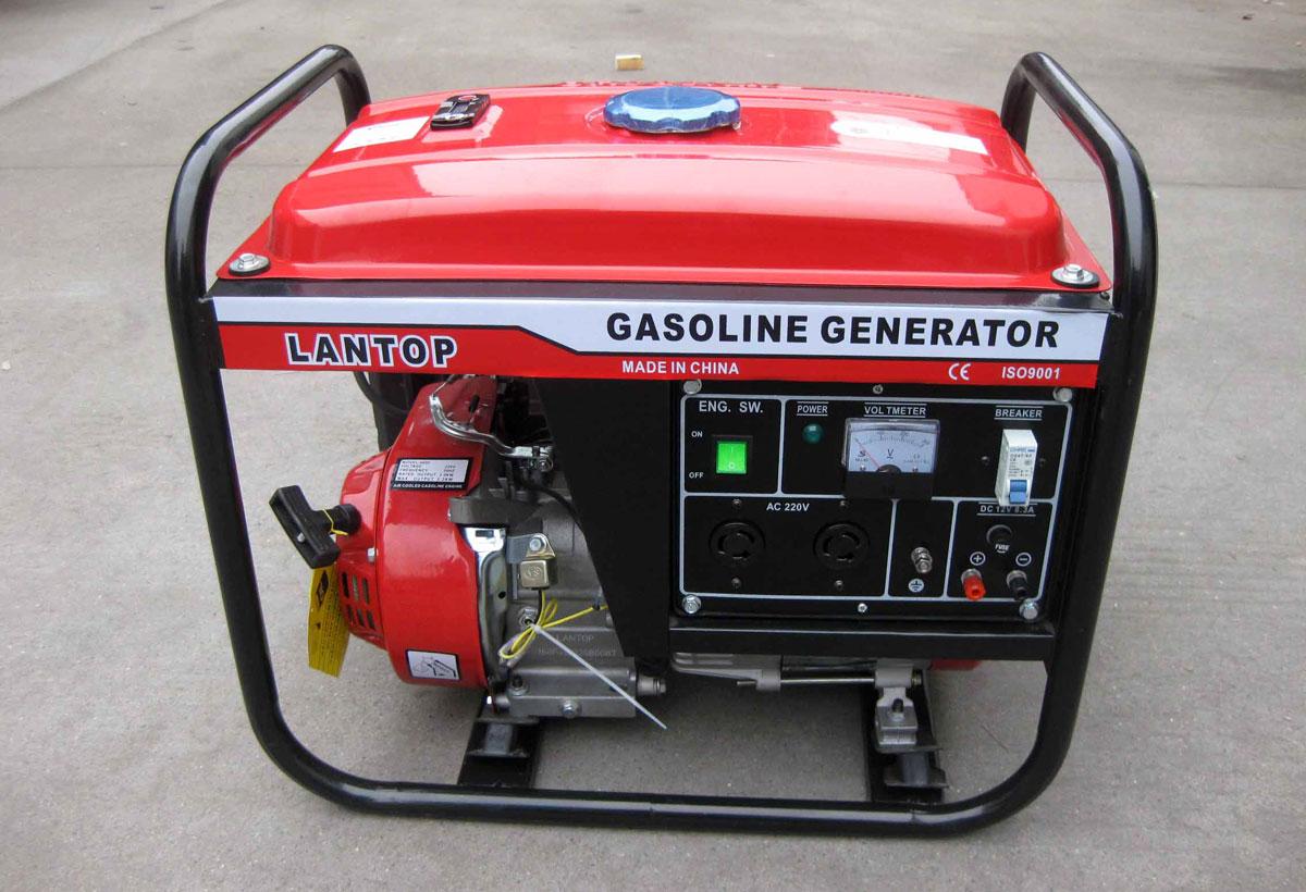 бензиновый 3-х фазный генератор