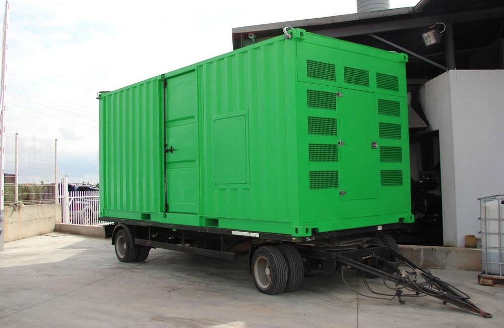 генераторная контейнерная станция