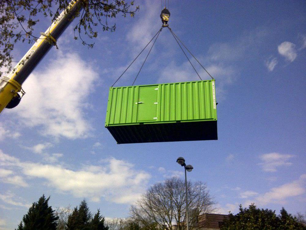 установка контейнерного дизель-генератора