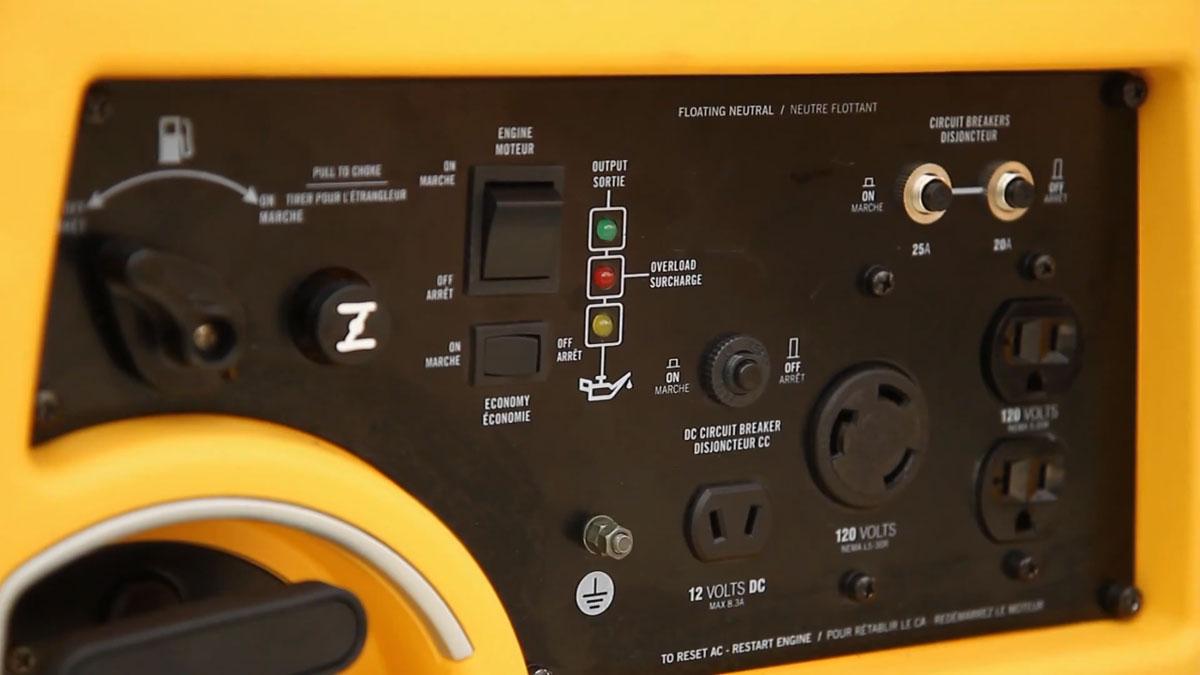 разъемы на генераторе