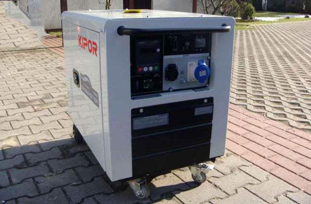 дизель-генератор инверторного типа