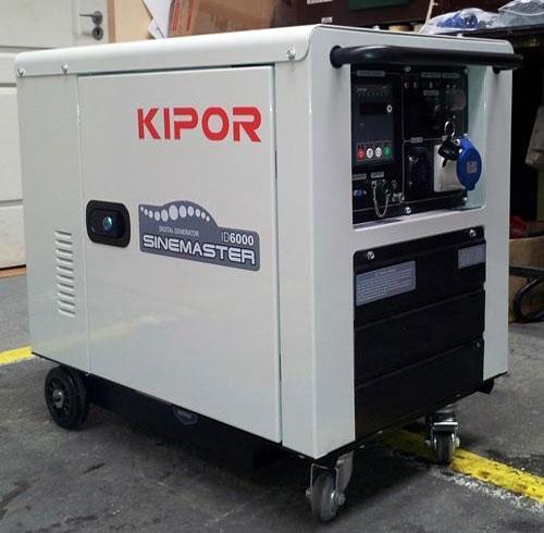 передвижной генератор на колесах