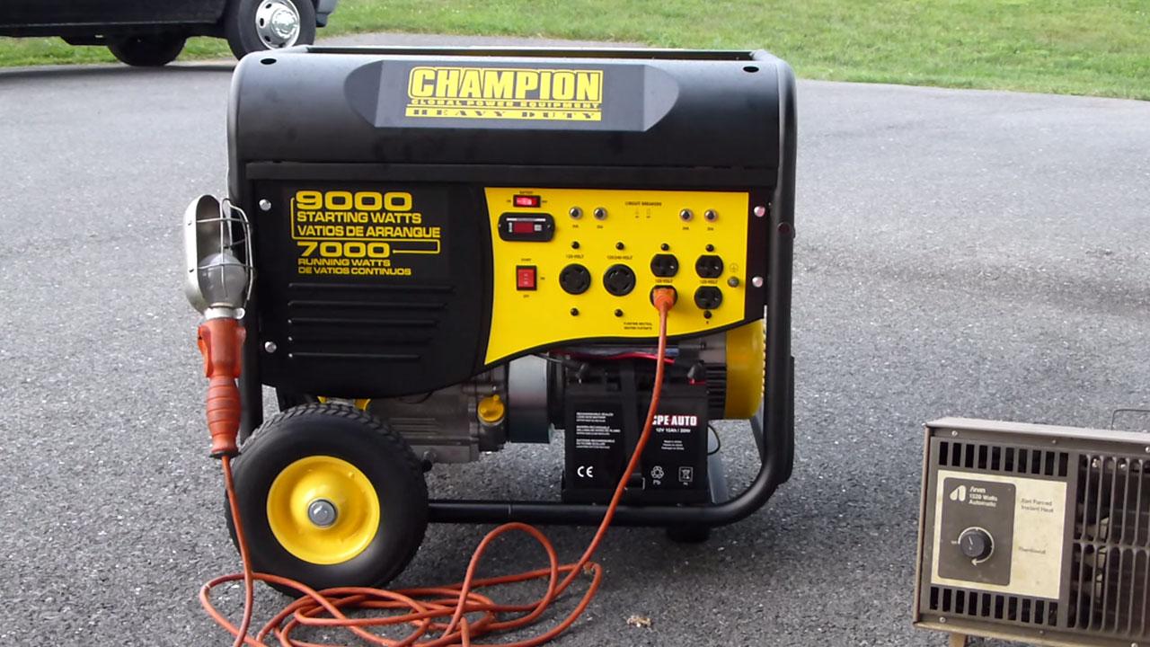 бензиновый или дизельный генератор