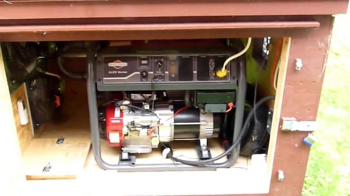 генератор в ящике