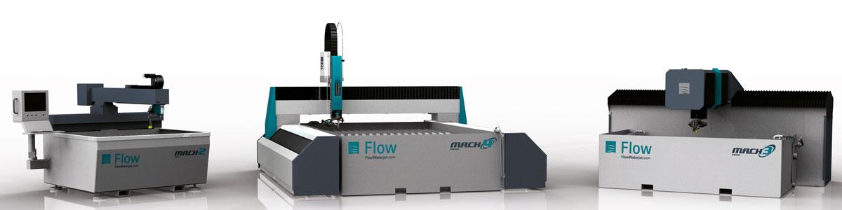 линейка гидроабразивных станков FLOW MACH