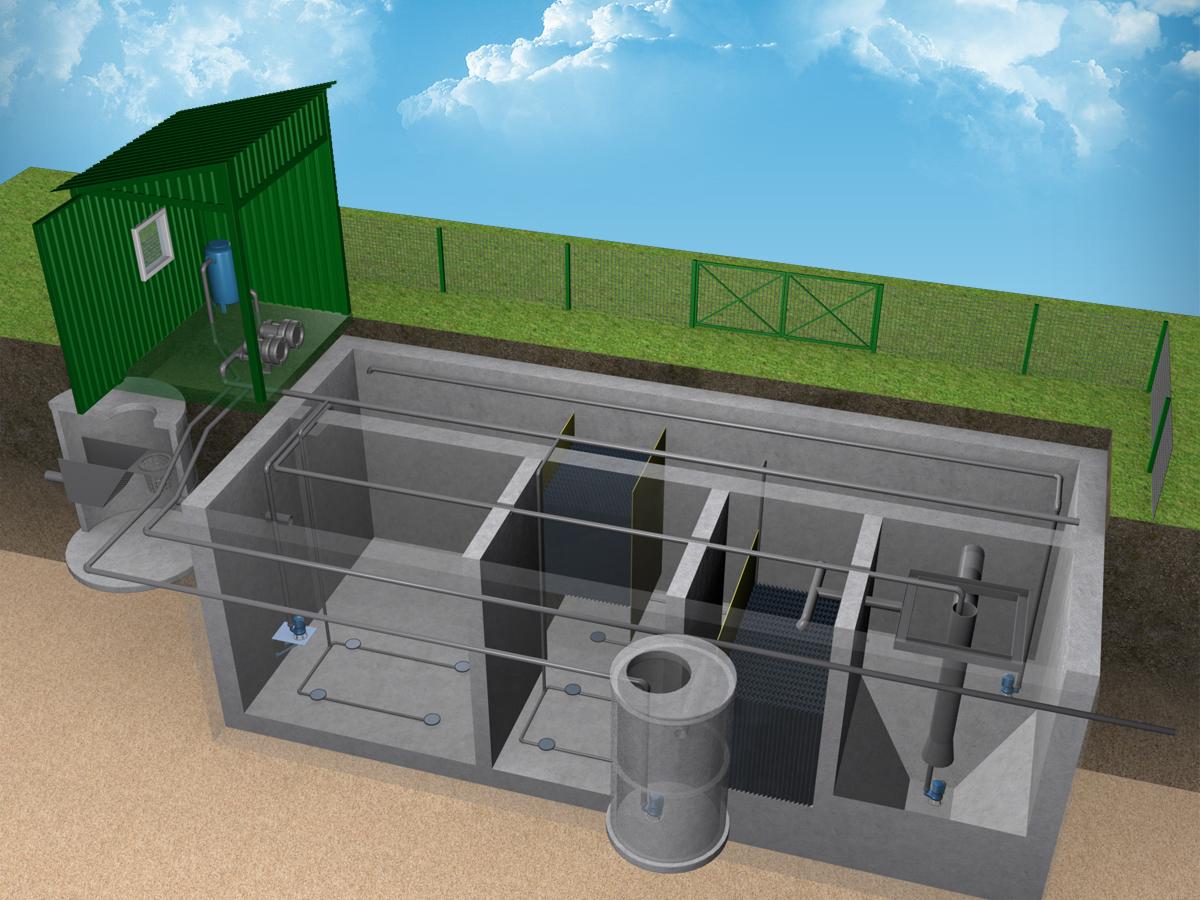 Локальные очистные станции для промышленных предприятий