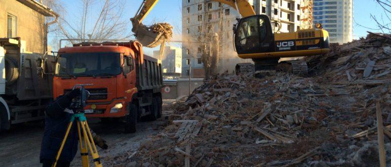 вывезти строительный мусор
