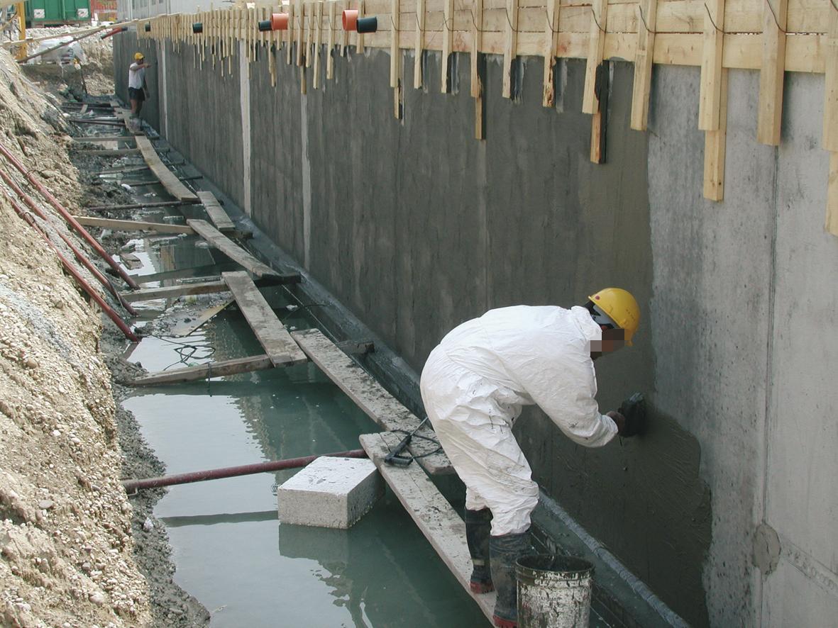 Сфера применения гидроизоляции «Кальматрон»