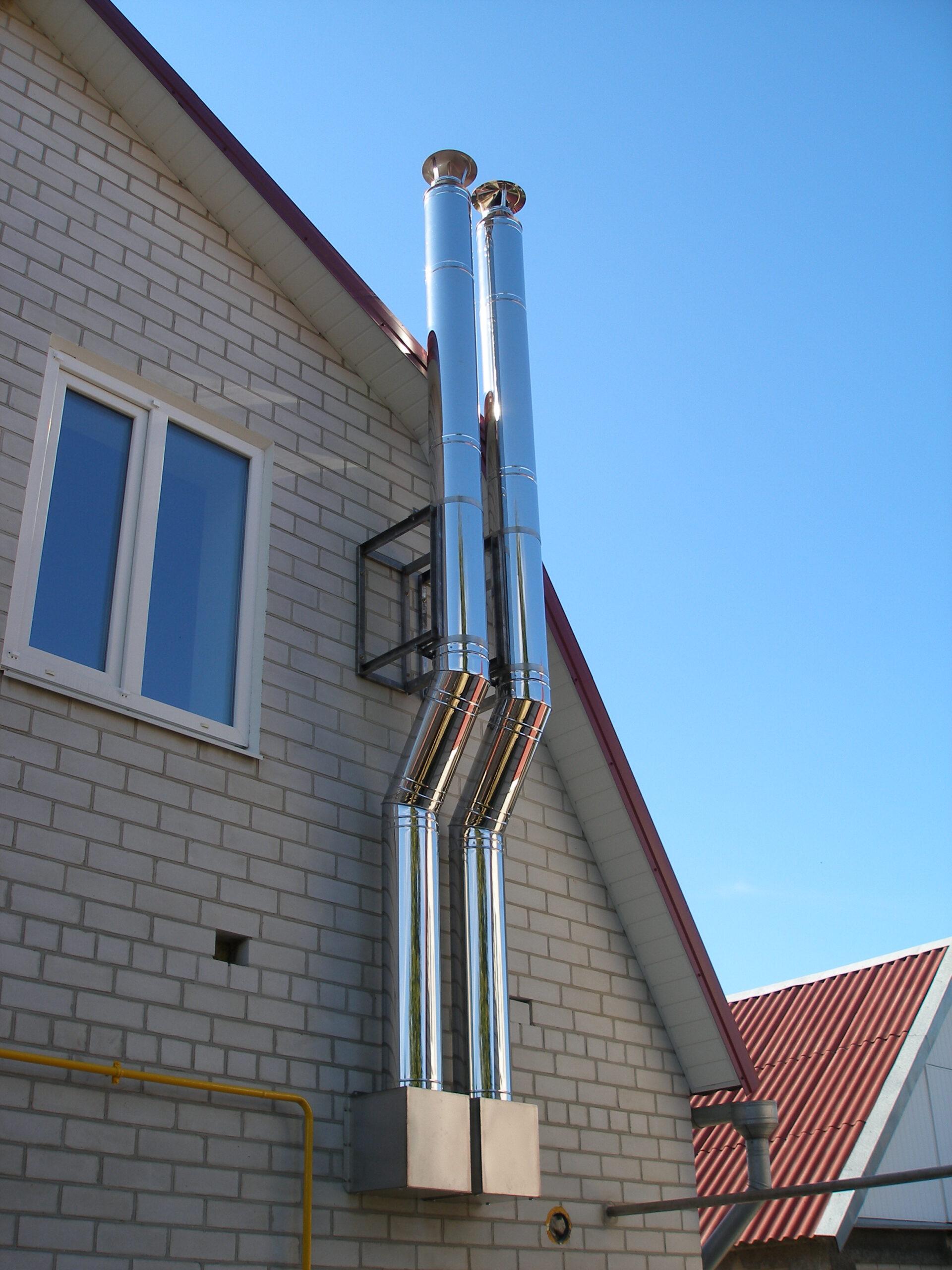 трубы для дымохода из нержавеющей стали