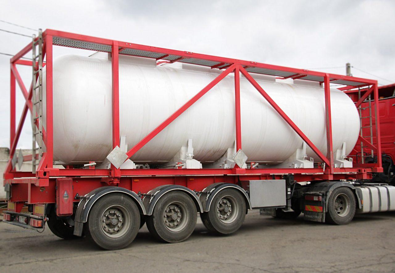транспортировка кислот цистернами