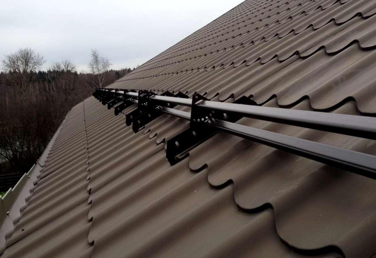 снегозадержатели для натуральной черепицы RoofSystems