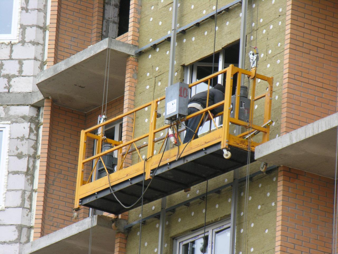 Где применяется строительная люлька ZLP-630