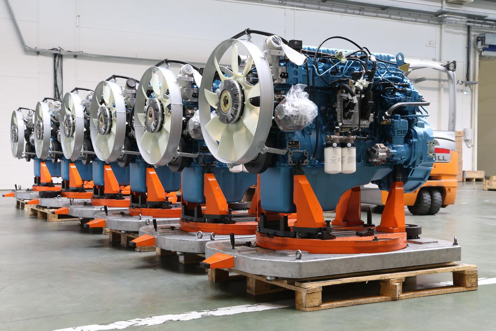 новый двигатель ЯМЗ
