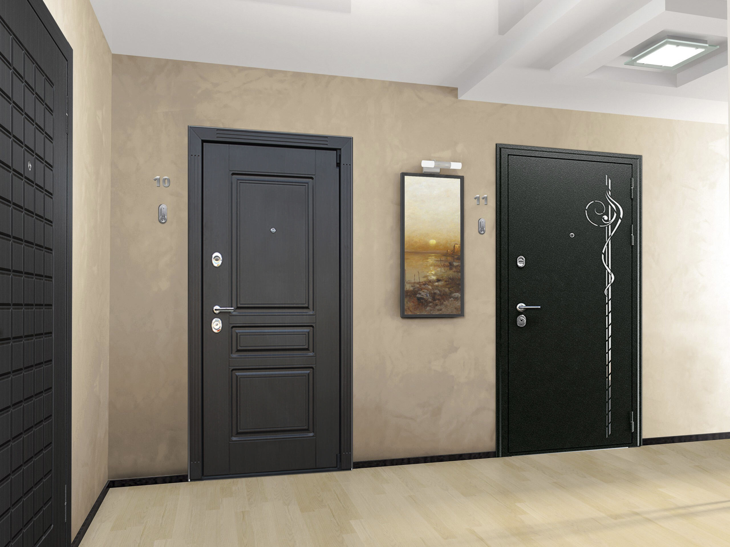 входные двери в квартиру