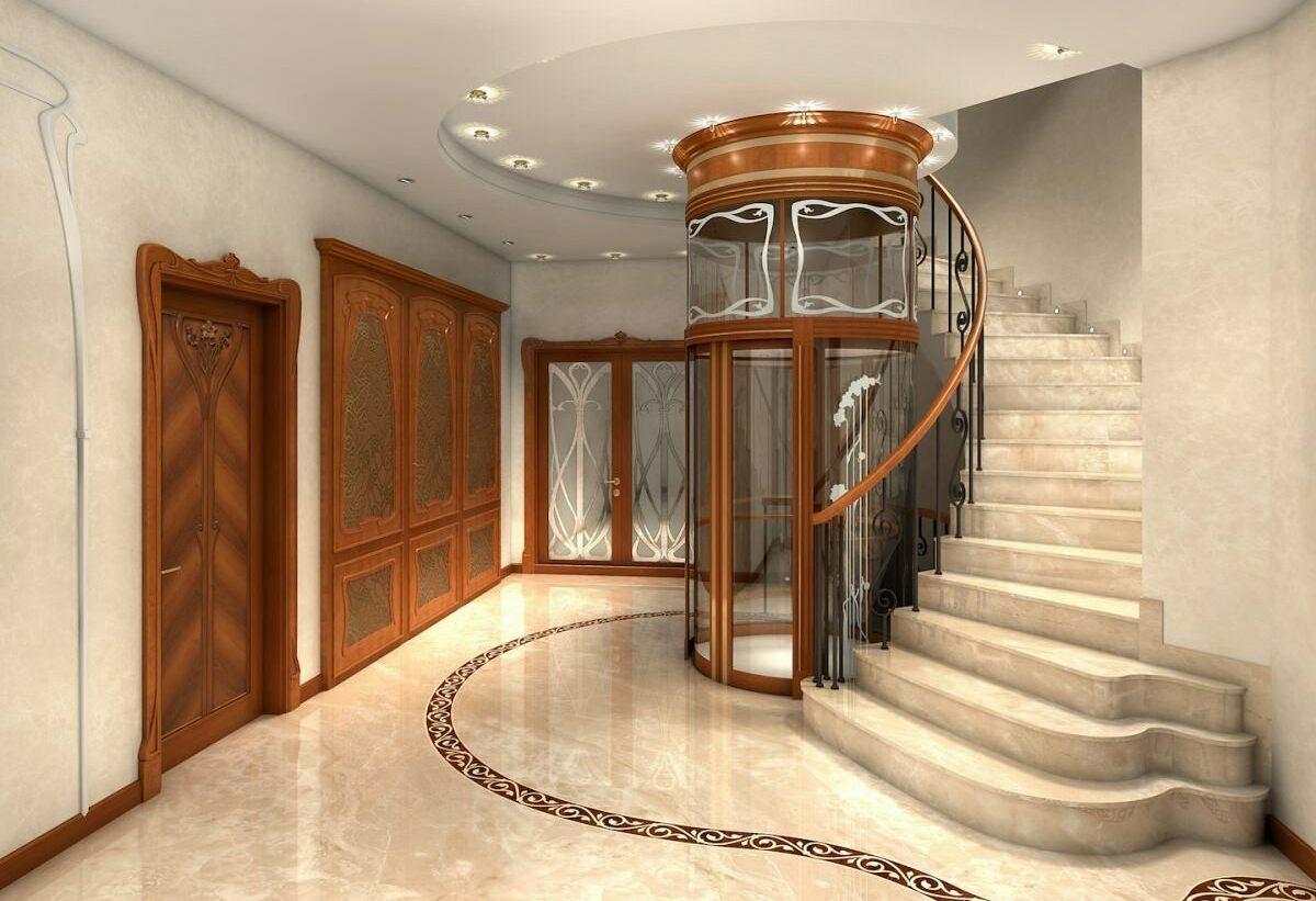 Обслуживание лифтов для частных коттеджей