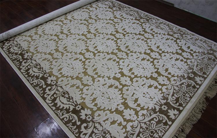 Качественные вискозные ковры из Бельгии: отличительные характеристики